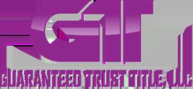 Guaranteed Trust Title, LLC, Logo